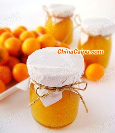 甜蜜金橘果酱