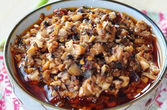 香菇拌饭酱