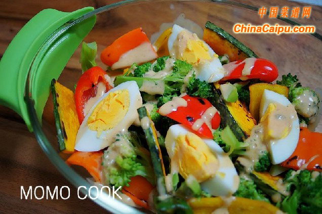 快手熟蔬菜沙拉