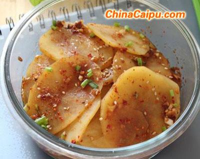 凉拌土豆片(2)
