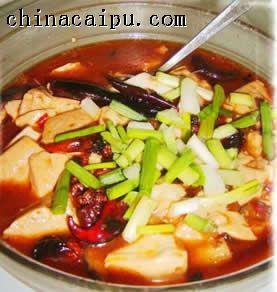 红油豆腐的做法