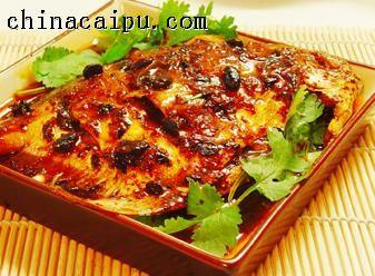 豉香平子鱼的做法
