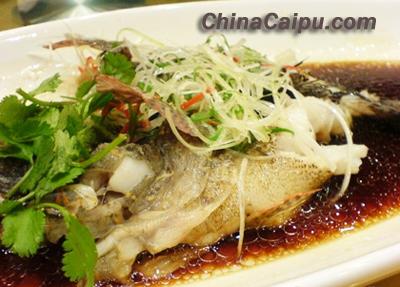 清蒸桂鱼的做法