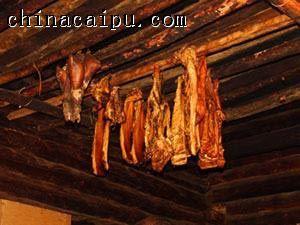 猪膘肉的做法