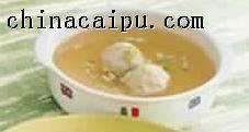 贡丸汤的做法