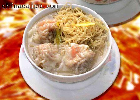 香港特色美食----云吞面