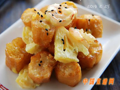 菠萝油条虾(5)