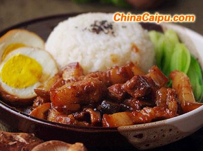 台式卤肉饭(2)