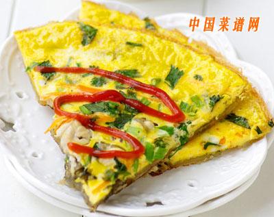 台湾经典小吃:蚵仔煎