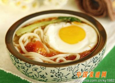 西红柿鸡蛋面(3)