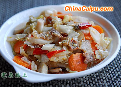 川版泡菜炒五花肉