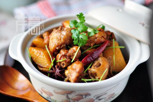 川辣土豆烧鸡