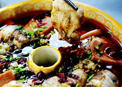 水煮鱼腩麻辣鲜香一锅烩