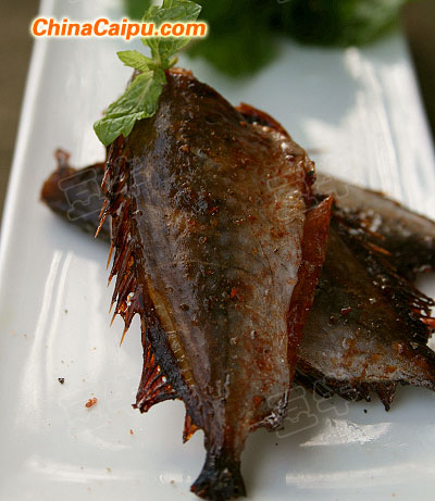 香烤剥皮鱼