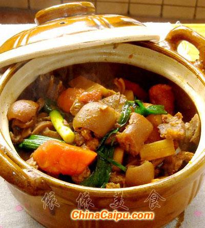 广式马蹄羊肉煲